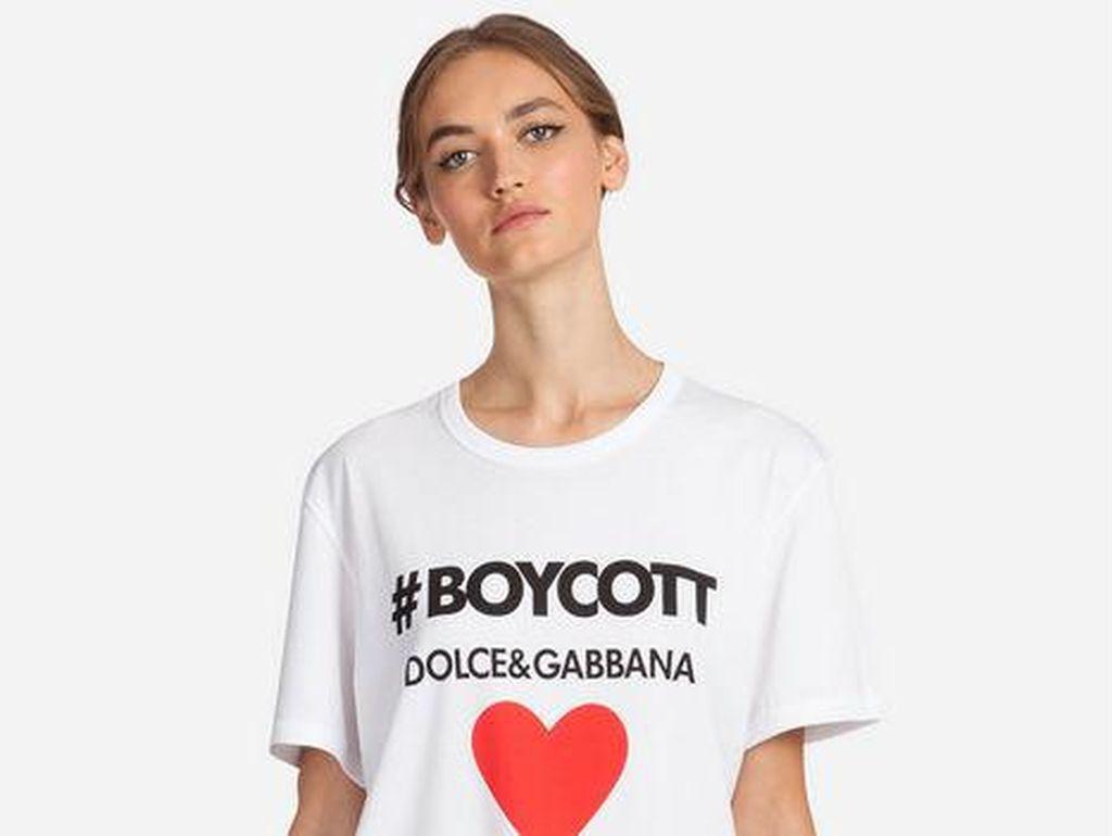 Diboikot Deretan Artis China, Produk Dolce & Gabbana Hilang dari Online Shop