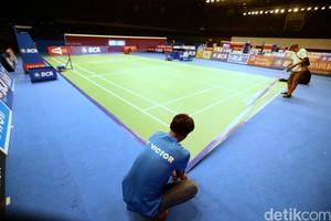 Melihat Persiapan Indonesia Open di JCC