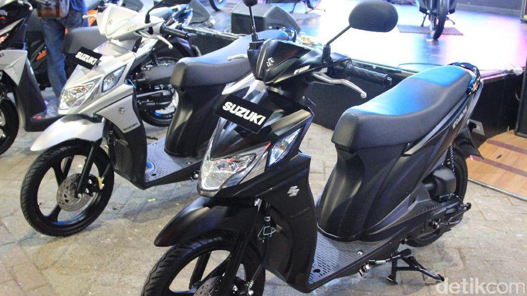 Juni 2017, Suzuki Pamer Skutik Baru