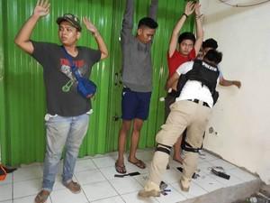 Tim Rajawali Tangkap Remaja Pemilik Tembakau Gorila di Pasar Rebo