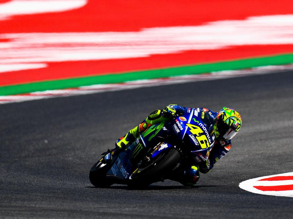 Ini Komentar Rossi Usai Jajal Sasis Baru Yamaha