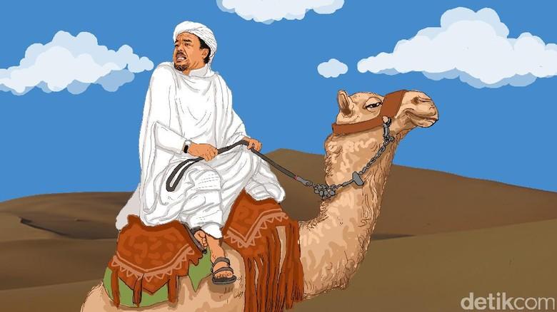Elektabilitas Kecil, Habib Rizieq Dinilai Tak Potensial Jadi Capres