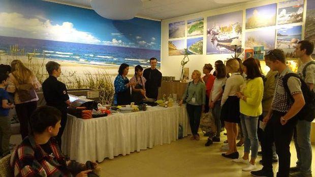 Demo masak dan uji coba masakan nusantara (KBRI Moskow)