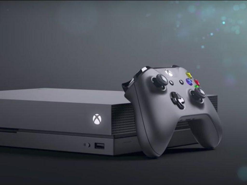 Xbox One X, Konsol Game Terkencang Sejagat