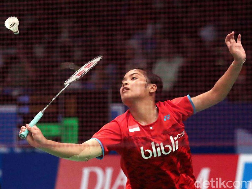 Gregoria Lolos ke Babak Dua Indonesia Open
