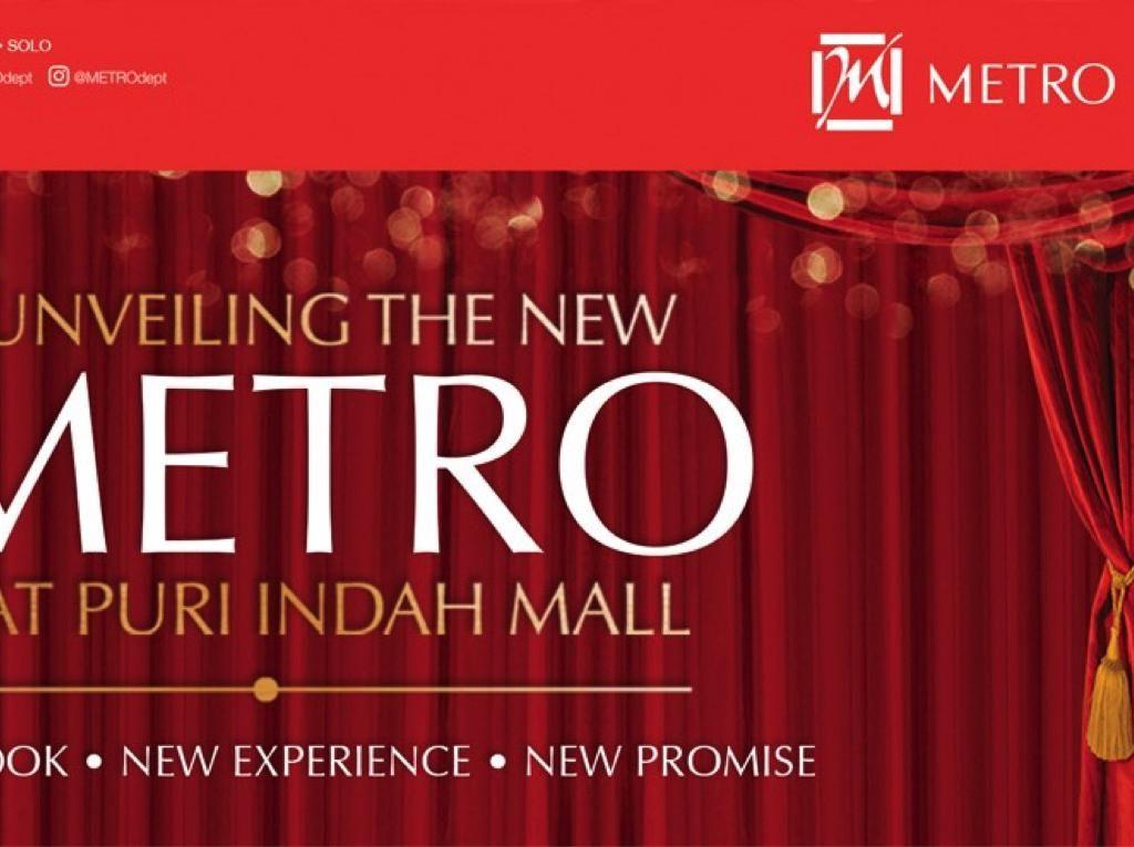 Metro Department Store Buka Gerai ke-10 di Puri Indah Mall