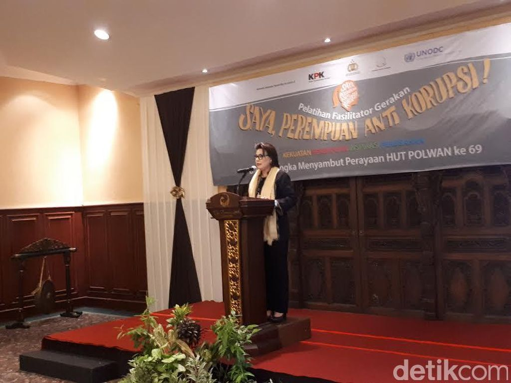Cari Agen Anti Korupsi, KPK Latih Polwan dan Jaksa di Yogya