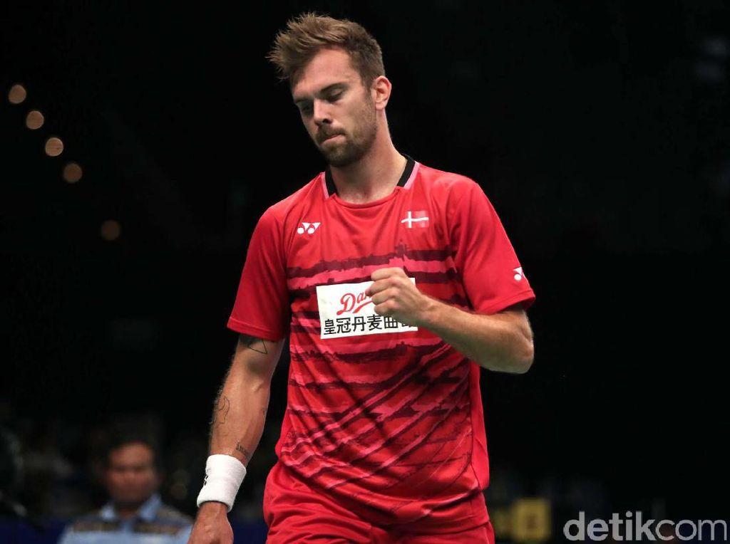 Jorgensen Tandai Comeback dengan Kekalahan di Indonesia Open