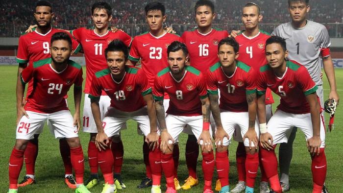 Timnas Indonesia saat akan menghadapi Puerto Riko (Foto: Tim Media PSSI)
