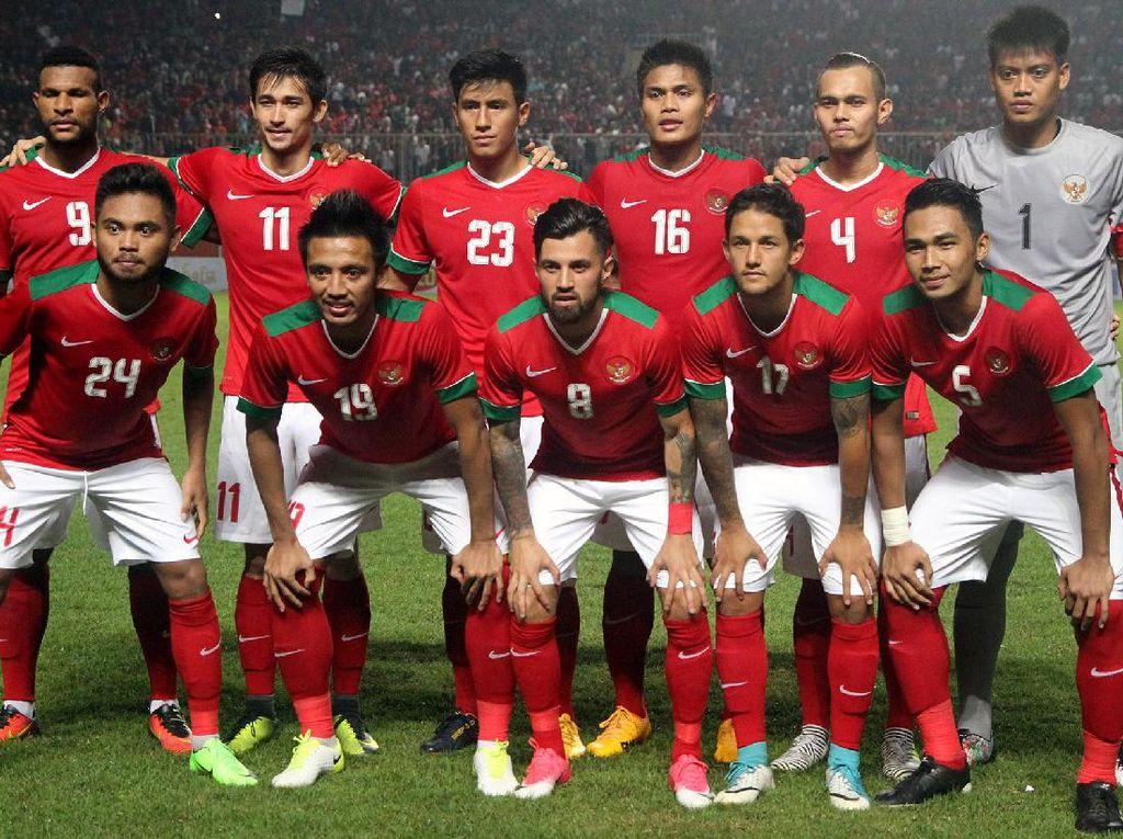 Keidealan Permainan Timnas Indonesia Cuma Terjadi di Babak Pertama