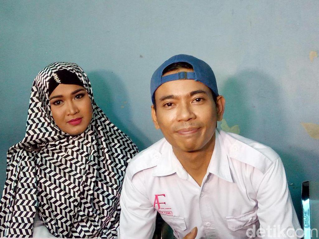 Aris Idol Ditangkap, Istri Menangis Histeris