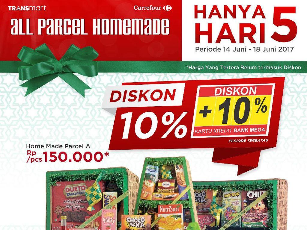 Diskon Home Made Parsel Lebaran di Transmart dan Carrefour