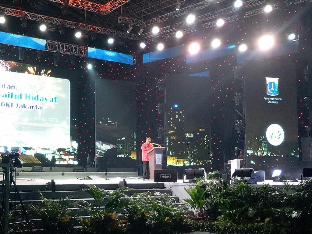 Djarot hingga Kapolda Metro Hadiri Pembukaan Pekan Jakarta Fair
