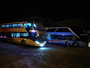 Bus Tingkat Serasa Pesawat Idola Para Pemudik