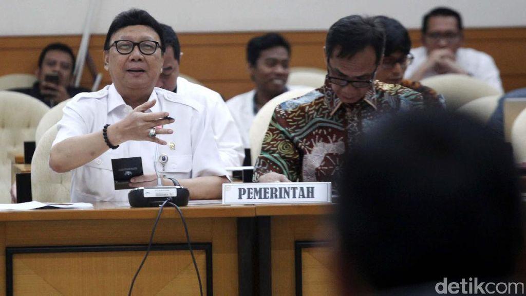 Pemerintah Usul Tambahan 15 Kursi di Pansus RUU Pemilu