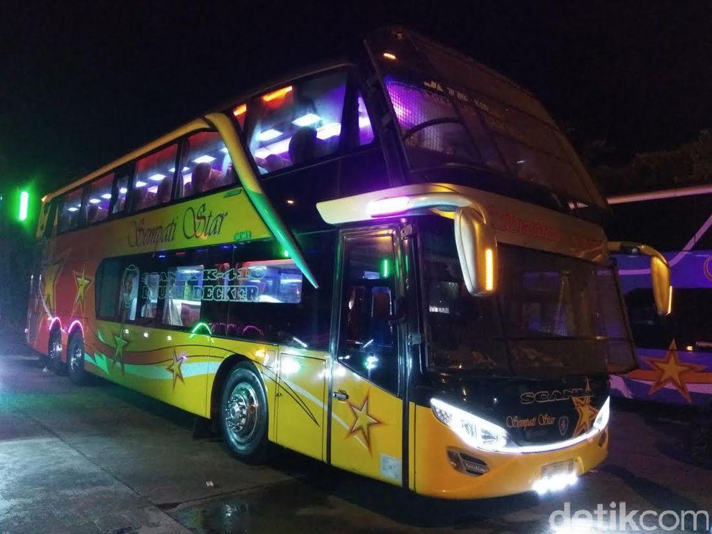 Bus Tingkat Serasa Pesawat di Aceh Jadi Idola Pemudik
