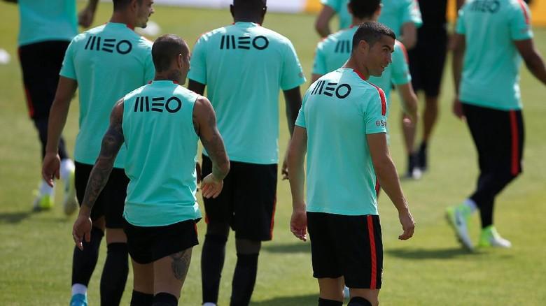 Kasus Pajak Tak Surutkan Semangat Latihan Cristiano Ronaldo