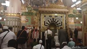Masuk ke Surga di Masjid Nabawi