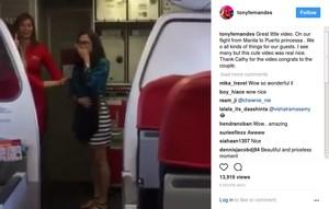 So Sweet, Pria Ini Lamar Kekasihnya di Dalam Pesawat