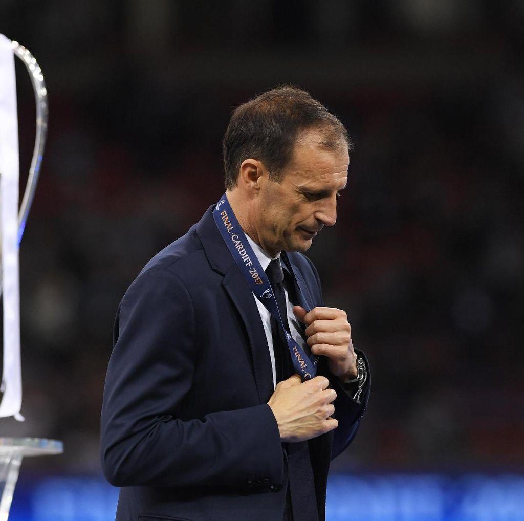 Allegri Sempat Pertimbangkan Mundur Usai Juve Kalah di Final Liga Champions