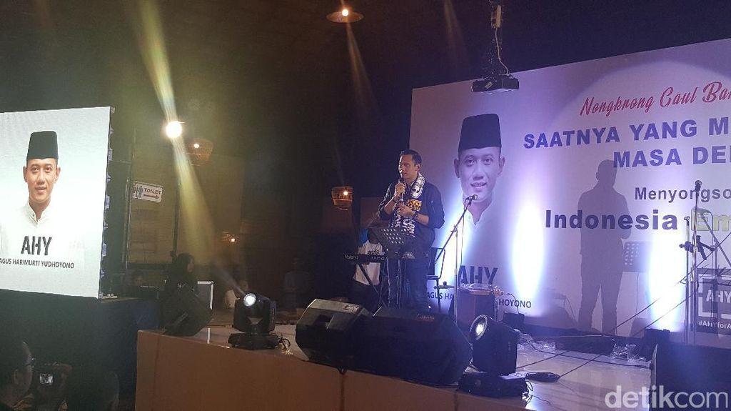 Safari Ramadan di Malang, AHY Bicara Soal Indonesia Emas 2045