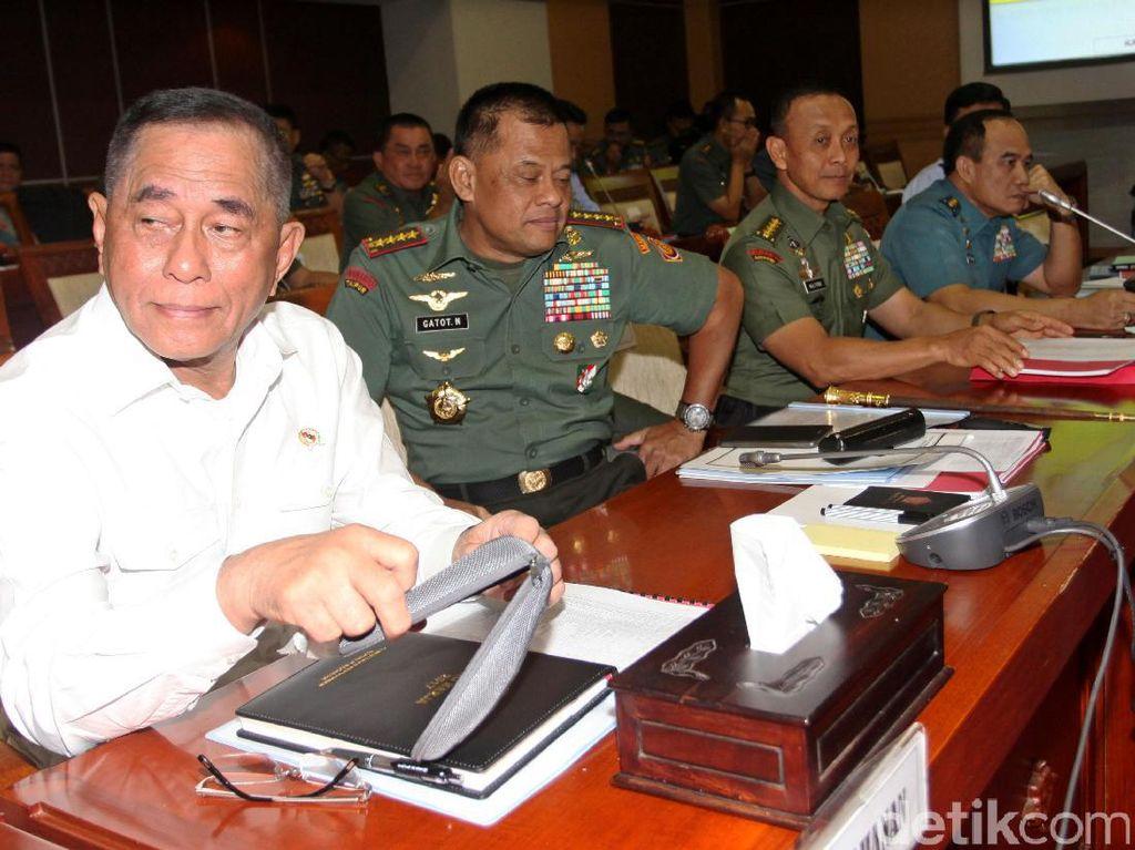 Peringatan Jokowi untuk Panglima TNI? Menhan: di Kabinet Jangan Gaduh