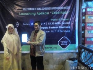 Lembaga Zakat Ini Luncurkan Aplikasi Zakat