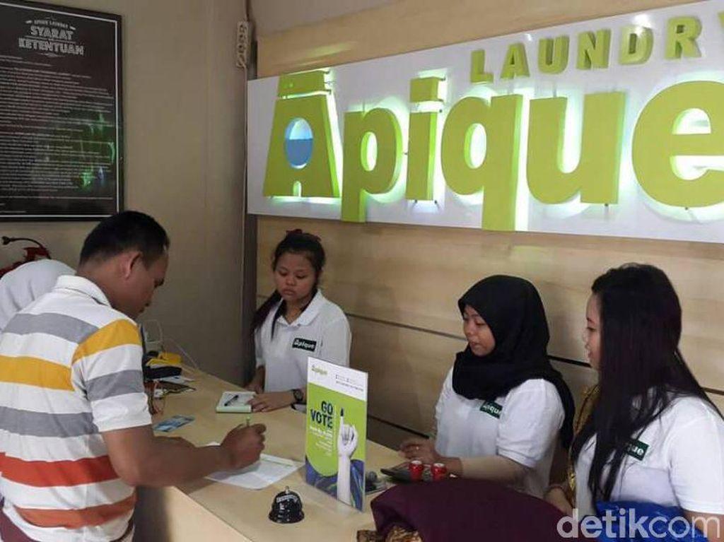 Jelang Lebaran, Permintaan Laundry Naik 30%