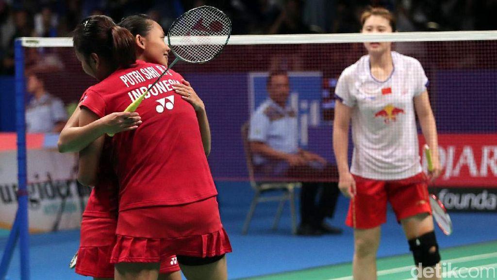 Della/Rosyita Melangkah ke Perempatfinal Indonesia Open 2017