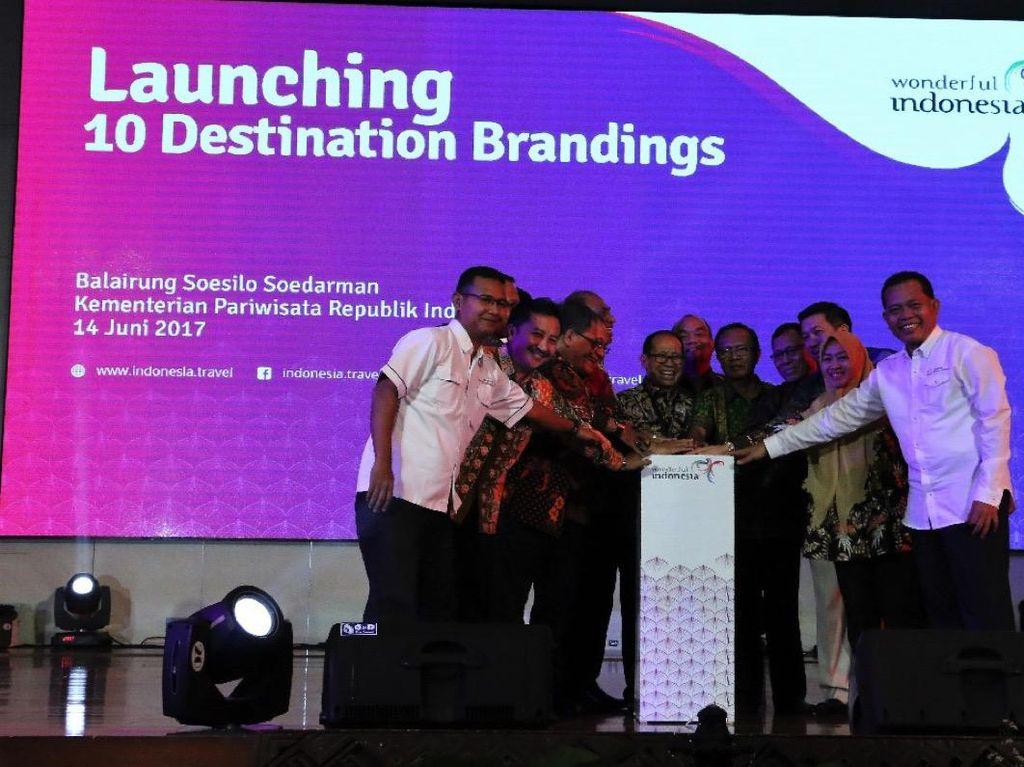 Kemenpar Launching Branding Baru 10 Destinasi Pariwisata