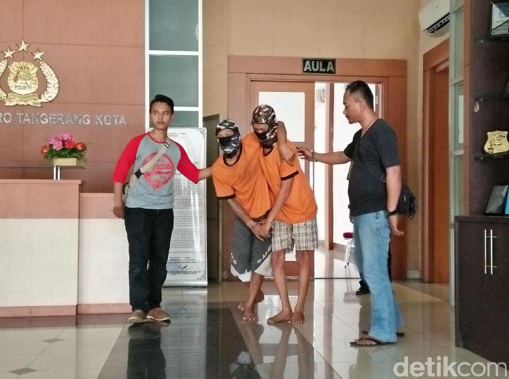Dua Jambret Ditangkap di Tangerang, 1 Orang Ditembak