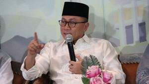 Ketum PAN Zulkifli Hasan Temui Presiden Jokowi di Istana