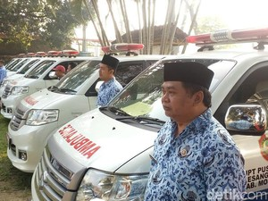 27 Ambulans dan 81 Tenaga Medis Siaga di Jalur Mudik Mojokerto