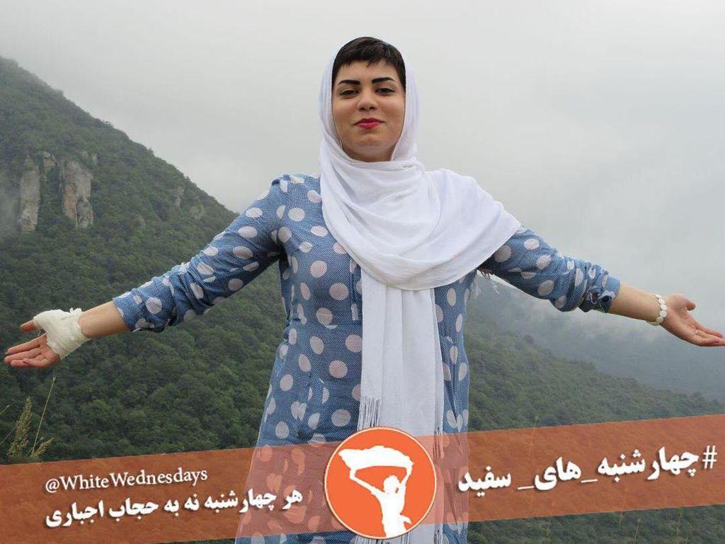 White Wednesday, Kampanye Anti Paksaan Berhijab yang Booming di Iran