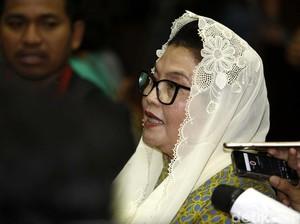 Eks Menkes Siti Fadilah Dieksekusi ke Lapas Pondok Bambu