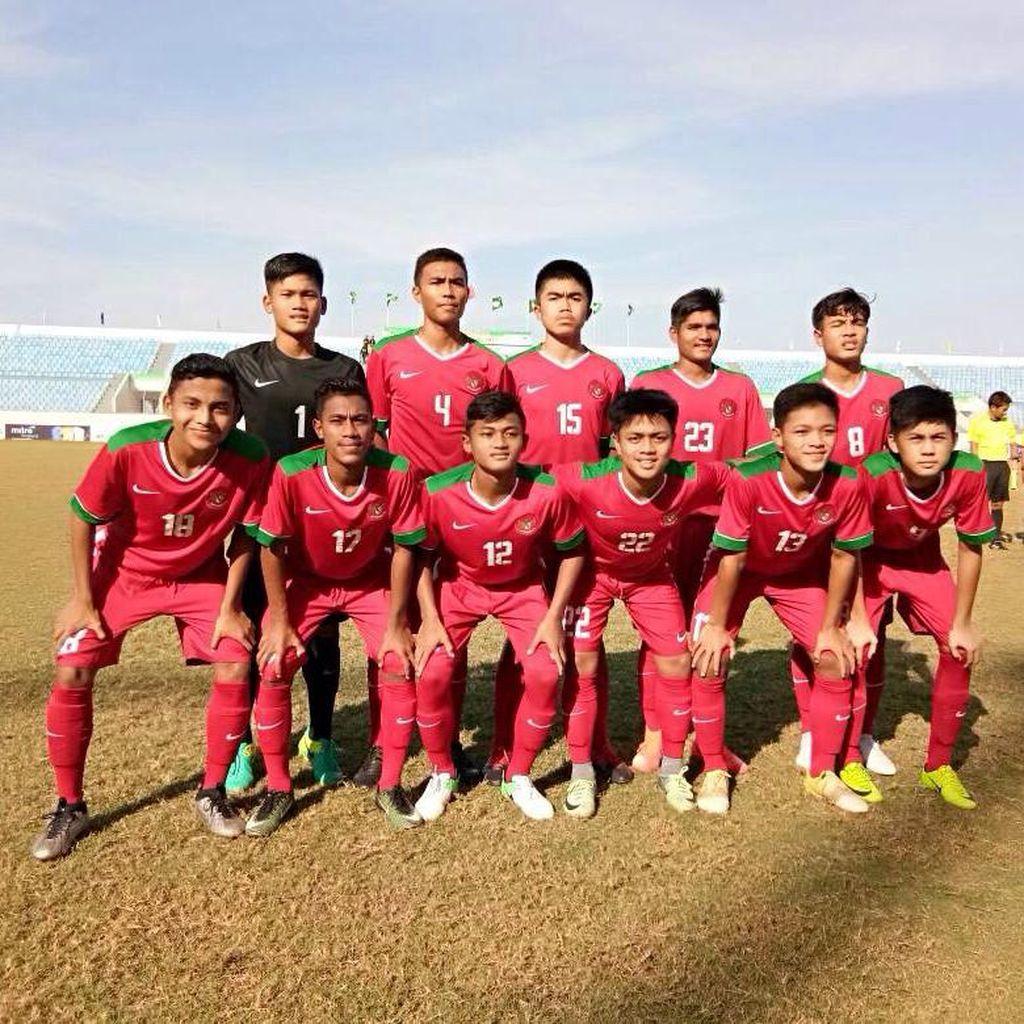 Timnas U-16 Bidik Juara di Vietnam