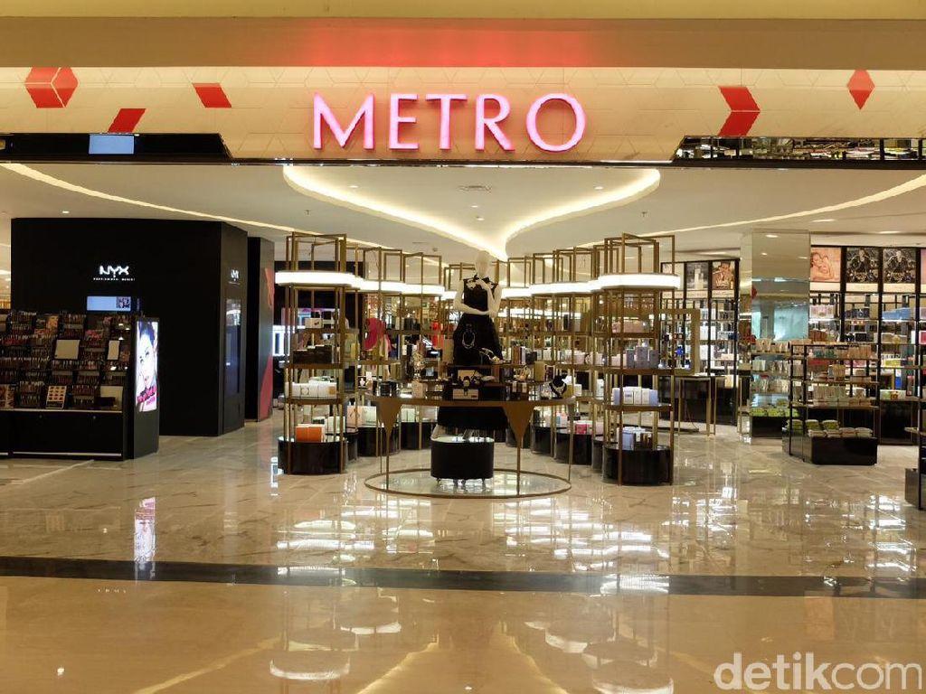 Metro Department Store Sudah Buka Kembali, Ini Jam Operasionalnya