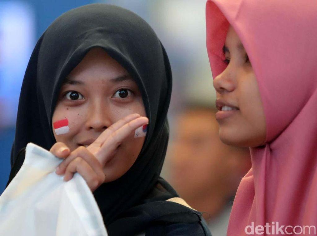 Warna-warni Penonton Indonesia Open 2017