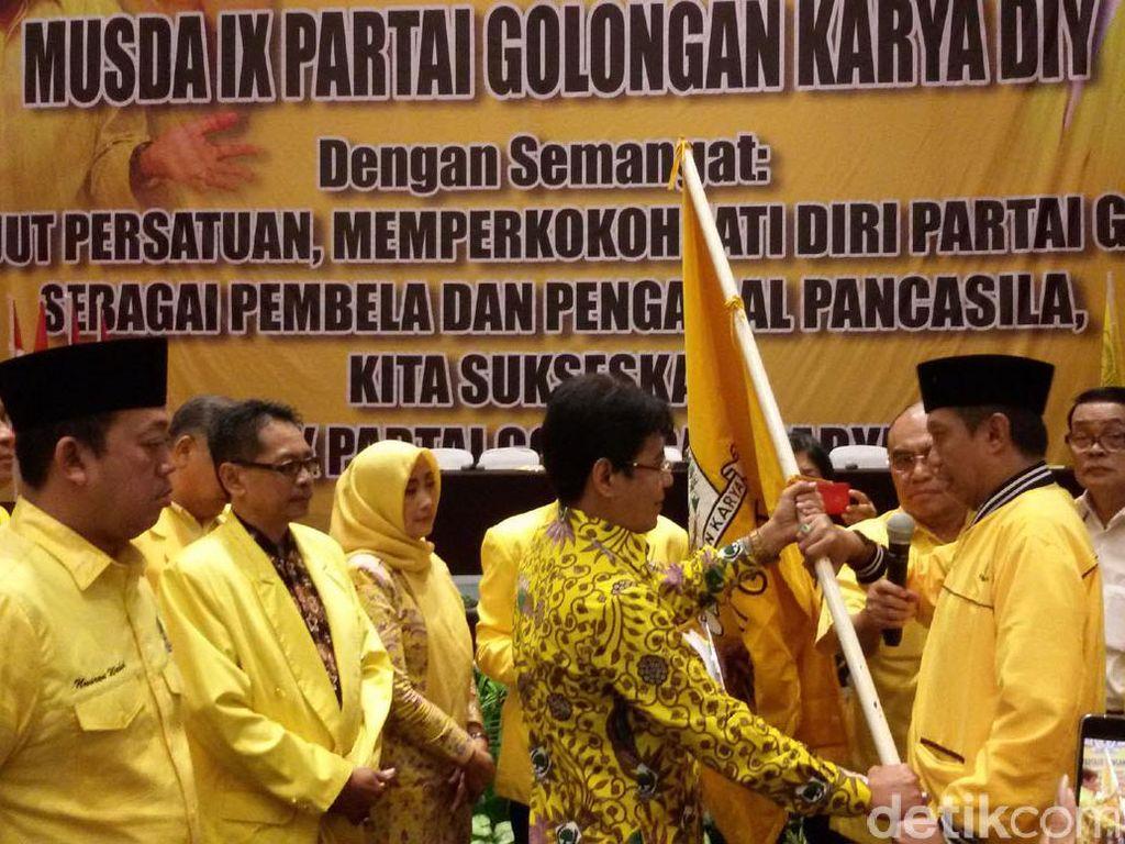Haryadi Suyuti Pimpin DPD Golkar DIY