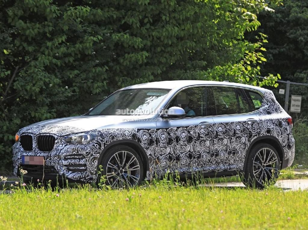 Wajah BMW X3 Terbaru