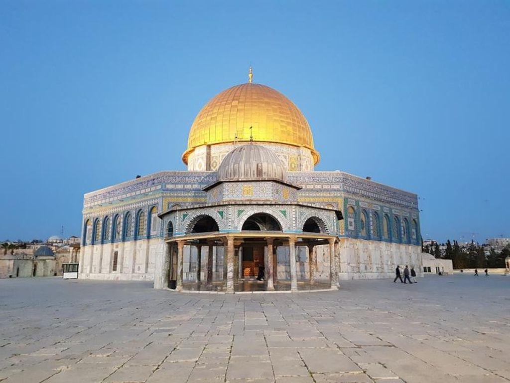 Ribuan Warga Yordania Aksi Simpati Dukung Warga Palestina