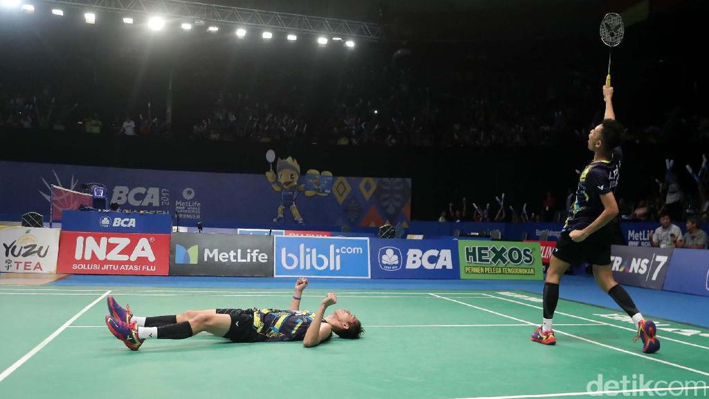 Kalahkan Tuan Rumah, Fajar/Rian Juara Malaysia Masters