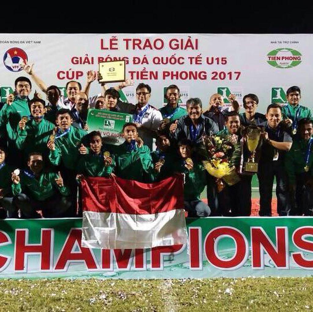 Timnas U-16 Jadi Juara di Vietnam