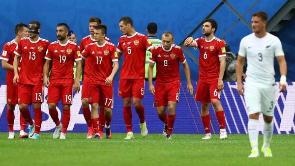 Misi Timnas Rusia Merebut Lagi Hati Suporternya lewat Piala Konfederasi