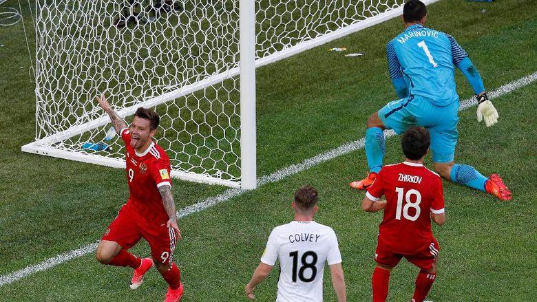 Rusia Tundukkan Selandia Baru 2-0