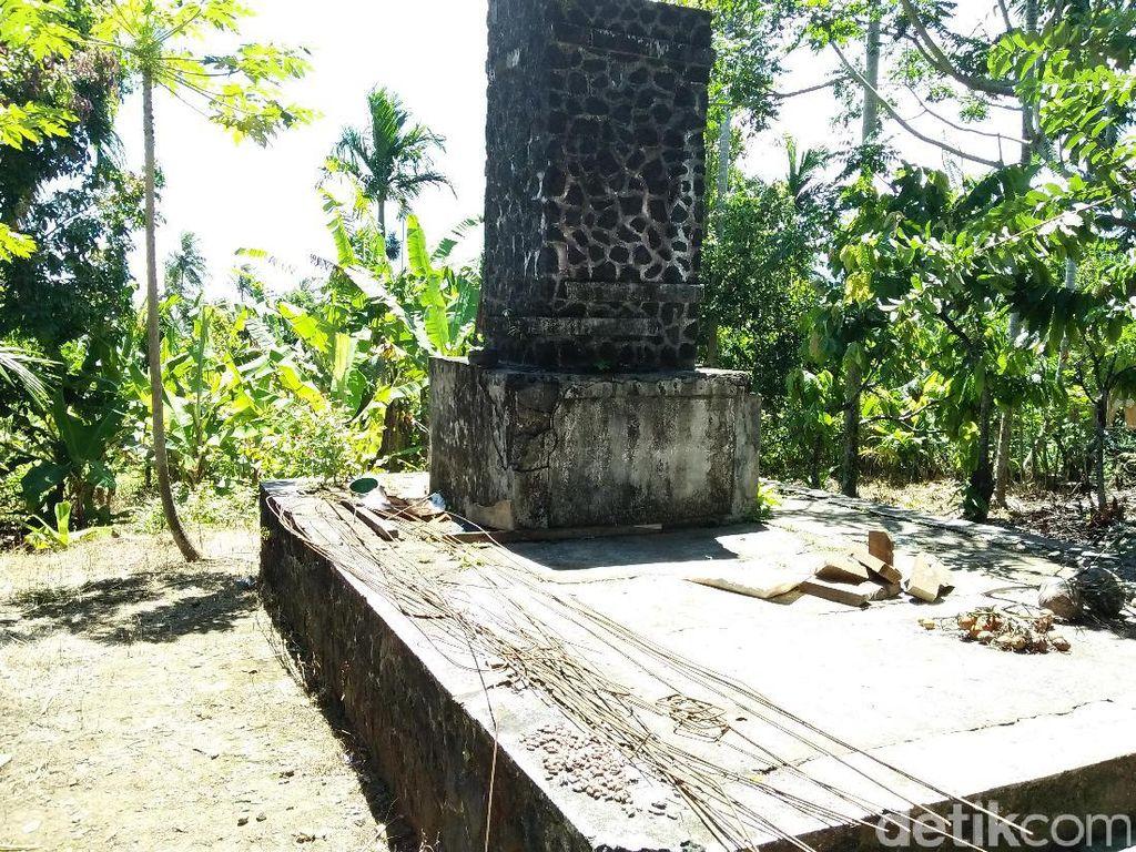 Potret Tembok Eksekusi di Sabang
