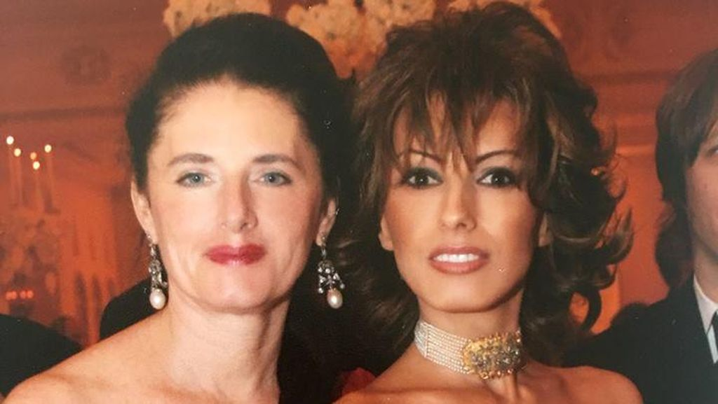Ines Knauss, Kakak Melania Trump yang Jarang Terekspos Publik