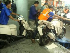 Selama Arus Mudik, PT KAI Angkut 3.004 Motor Gratis ke Purwokerto