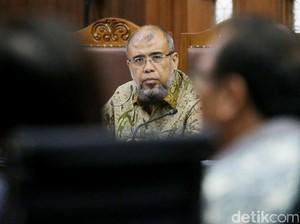 Alasan Sakit, Patrialis Minta ke Hakim Dijadikan Tahanan Kota