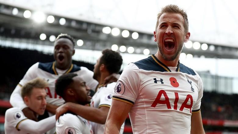 Adu Tajam Penyerang Premier League 2017/2018: Siapa Hentikan Harry Kane?